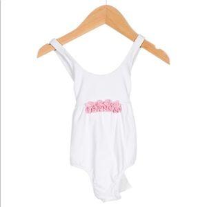 il gufo baby girl swimsuit